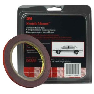 3M Double Sided Tape Gray for Nameplate-0